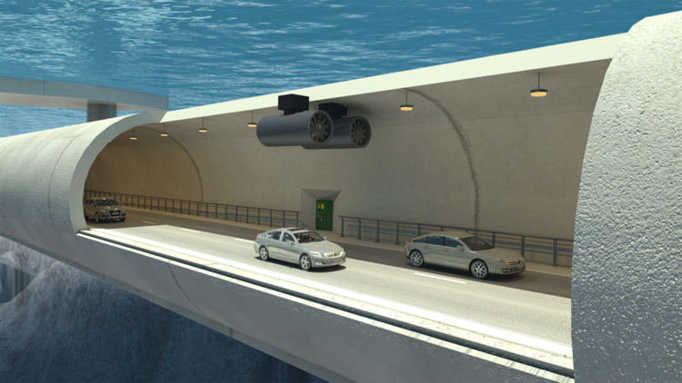 Así será el túnel de carretera más largo del mundo bajo el agua (Video y fotos)
