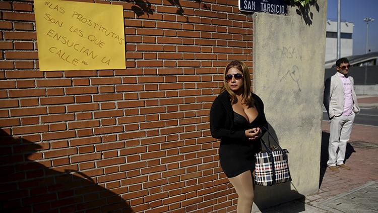la prostitución es ilegal en españa putas trabajando