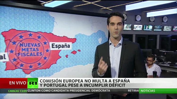La Comisión europea libera a España y a Portugal de la multa pese a incumplir déficit
