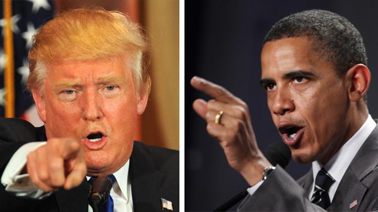 """""""Describen un país que no existe"""": La contundente respuesta de Trump al discurso de Obama"""