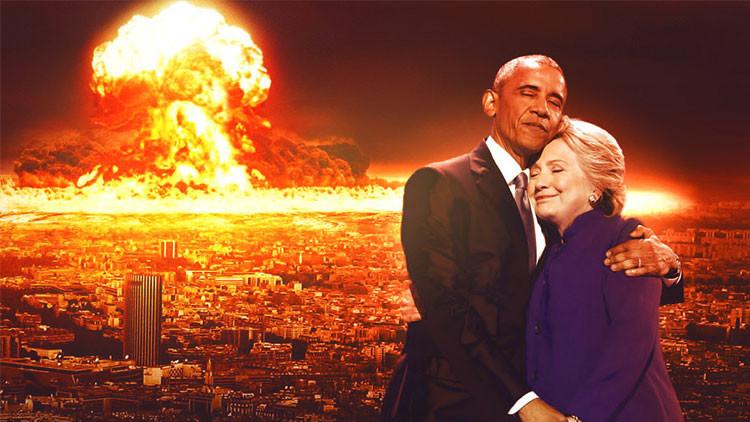 Fotos: Usuarios de Reddit se burlan de una foto de Barack Obama y Hillary Clinton