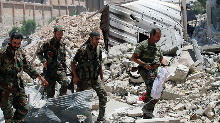 ¿Quién está atrapado en Alepo?