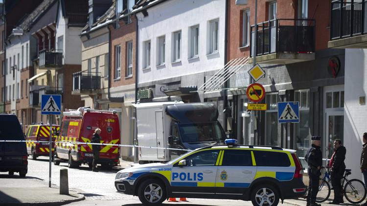 Una explosión sacude una zona residencial en Suecia