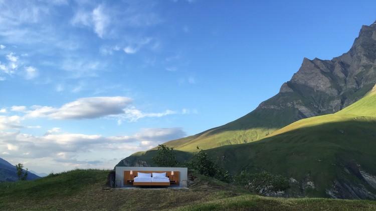 Solo para turistas intrépidos: un hotel que no tiene paredes, techo ni baño