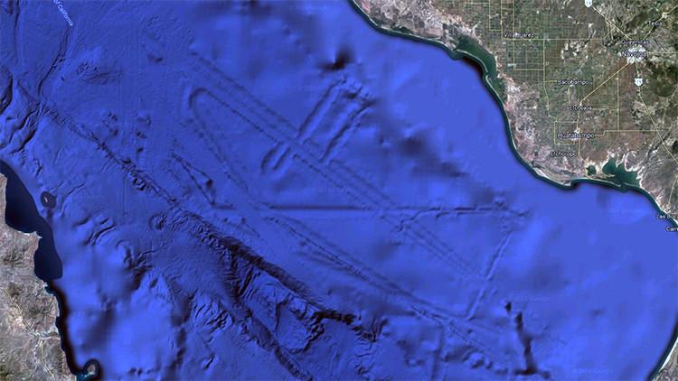 ¿Hay una ciudad en el fondo del golfo de California?