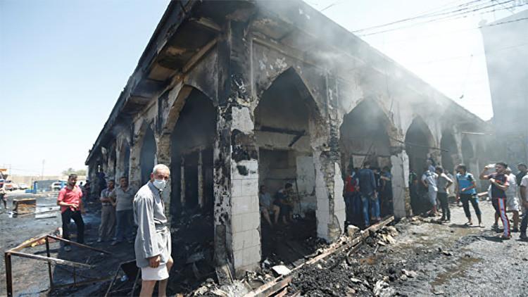 """""""Nunca había visto nada parecido"""": El Estado Islámico tiene una nueva bomba mortífera"""