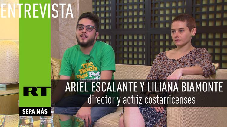 Entrevista con Ariel Escalante y Liliana Biamonte, director y actriz costarricenses