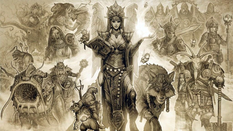 Los héroes del folclore ruso, convertidos en personajes de videojuego
