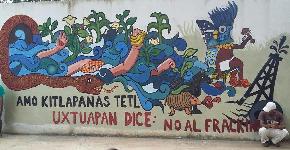 Oposición a la fractura hidráulica en México