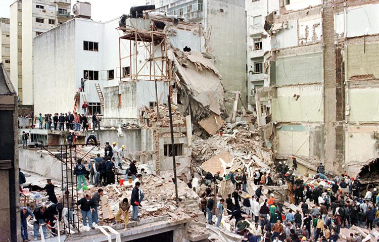 Secuelas dejadas por el atentado del 18 de julio de 1994