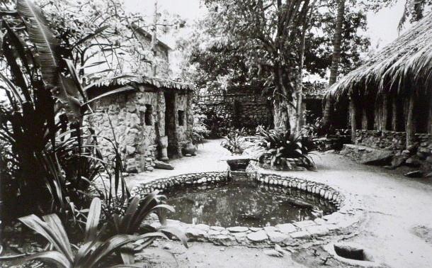 Imagen de El Castillete antes de que la tragedia de Vargas, en 1999, lo dejara en ruinas.