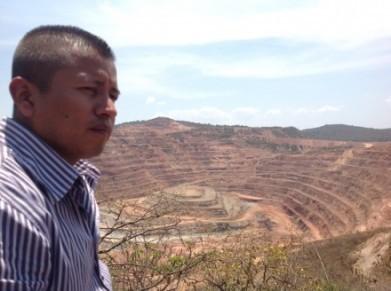 Vista de la mina de Carrizalillo en Guerrero.