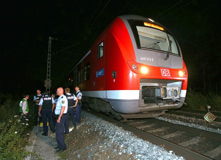 El ataque fue perpetrado en la línea de ferrocarril que une las ciudades bávaras de Wurzburg y Ochsenburg.