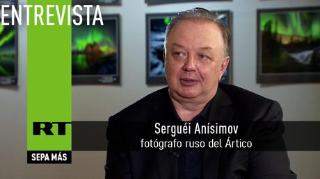 Entrevista con Serguéi Anísimov,  fotógrafo ruso del Ártico