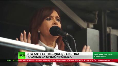 Argentina: Cita ante el tribunal federal de Cristina Kirchner polariza a la opinión pública