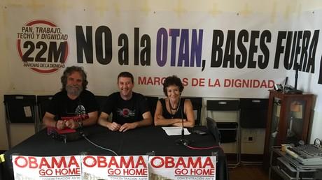 Rueda de prensa de las Marchas de la Dignidad / RT