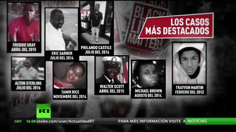 442 afroamericanos muertos, el saldo de la violencia policial en EE.UU. desde el inicio de 2015