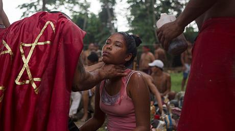 La fe en María Lionza es ancestral,  sus orígenes son indígenas, Venezuela 12 de octubre de 2015