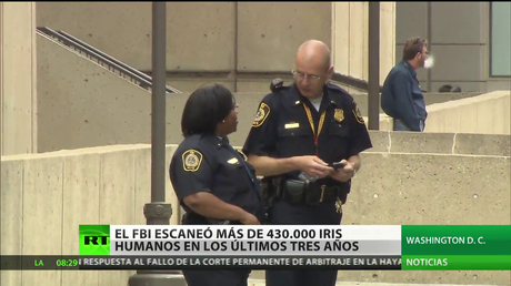 El FBI escaneó más de 430.000 iris humanos en los últimos tres años