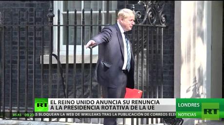 Londres renuncia a la presidencia de turno en el Consejo Europeo