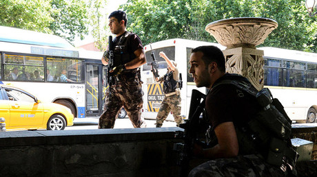 Militares turcos.