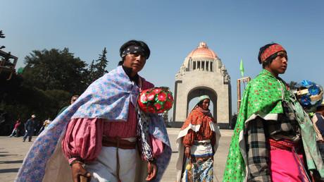 Los indígenas rarámuris / Foto Ilustrativa