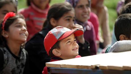 Niños sirios/ Imagen ilustrativa