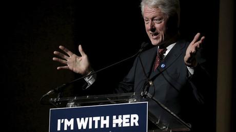 Ex presidente de EE.UU. Bill Clinton