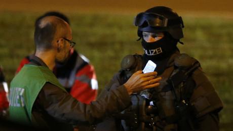 Agente de policía alemán