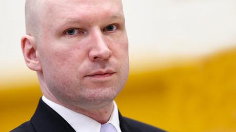 Anders Breivik durante una rueda de prensa en Oslo