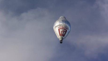 El globo en el que Fiódor Kóniujov recorrió los 34.000 kilómetros