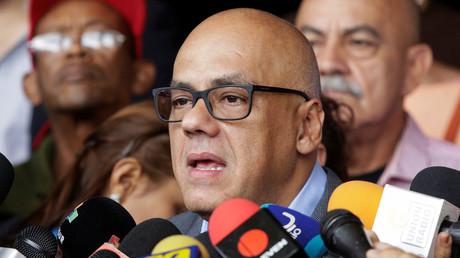 Jorge Rodríguez, alcalde del municipio Libertador de Caracas, el 13 de junio de 2016