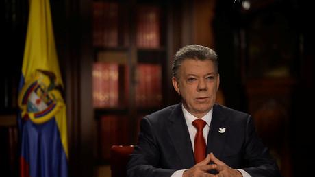 El presidente Juan Manuel Santos se dirige al pueblo colombiano. 18 de julio de 2016