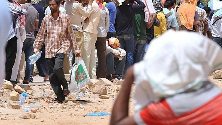 Nueva Deli envía alimentos a 10.000 ciudadanos indios que perdieron su empleo en Arabia Saudita