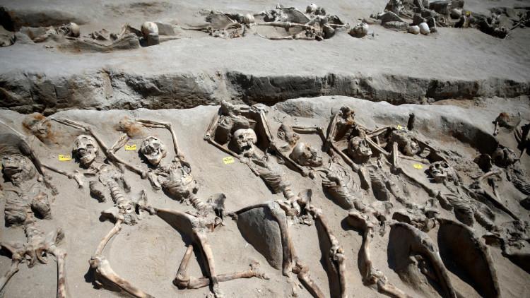 Los arqueólogos acaban de resolver un asesinato masivo de 2.500 años de antigüedad