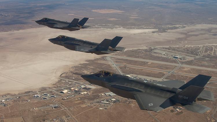 El caza polivalente F-35, ¿demasiado furtivo para la Fuerza Aérea de EE.UU.?
