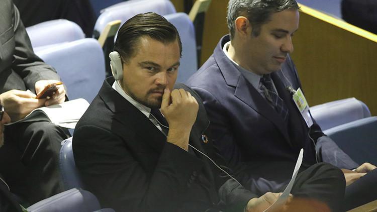 Leonardo Di Caprio recauda fondos para la campaña de Hillary Clinton
