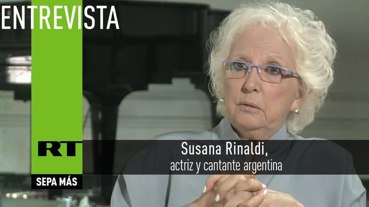 Entrevista con Susana Rinaldi, actriz y cantante argentina