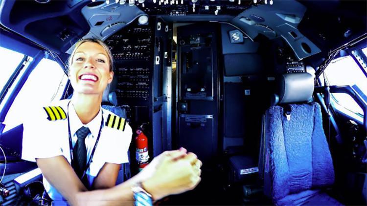 ¿La piloto más sexi del mundo?: Una aviadora sueca causa furor en Instagram (FOTOS)