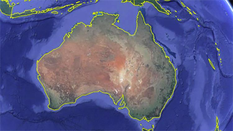 Australia se mueve. ¡Literalmente!