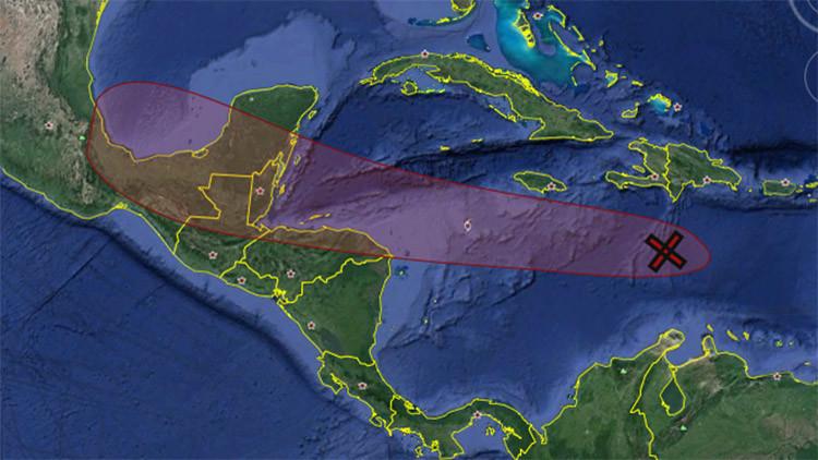 Impacto en Centroamérica: la tormenta Earl tiene un 90% de probabilidades de convertirse en huracán