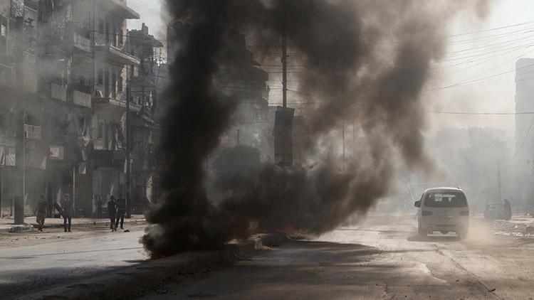 Siria: Armas químicas usadas por terroristas en Alepo dejan al menos cinco muertos