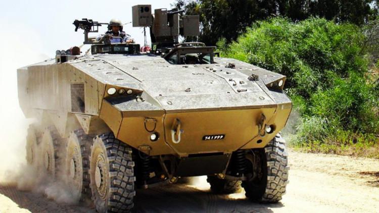Video: Así será el futuro vehículo de transporte de personal del Ejército de Israel