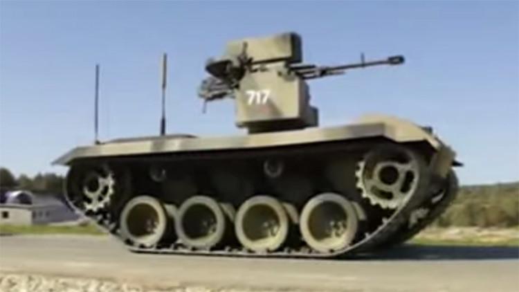 Rusia probará un robot de combate que cambiará para siempre la vida de los soldados (VIDEO)