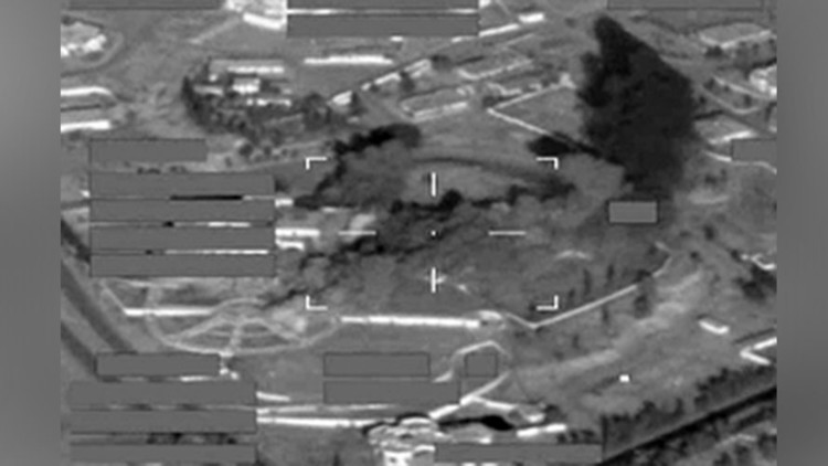 Aviones británicos bombardean posiciones del EI en uno de los palacios de Saddam Hussein (video)