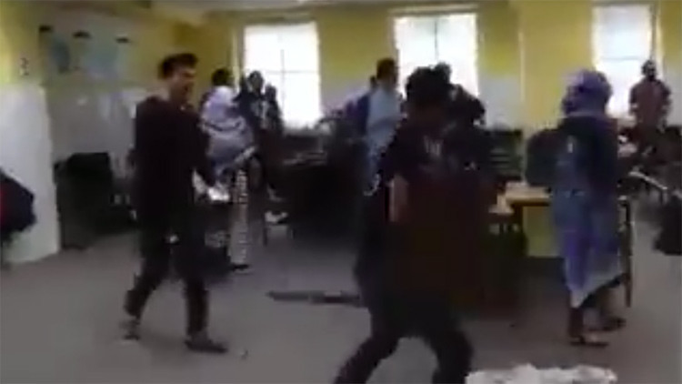 Video: Batalla entre refugiados en un centro de acogida en Alemania