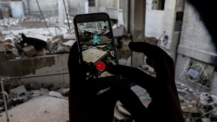 ¿El juego más peligroso del mundo? Jóvenes sirios arriesgan su vida para jugar a Pokémon Go (fotos)