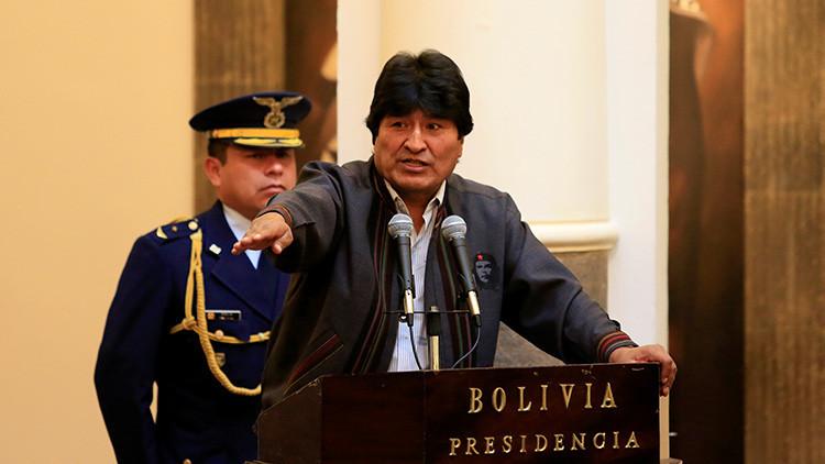 """Evo Morales: """"Las Fuerzas Armadas están preparadas para sentar soberanía"""""""