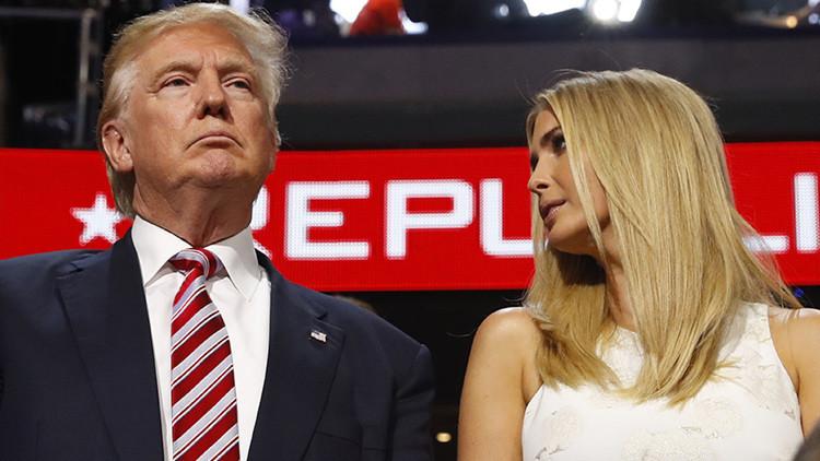 Ivanka Trump intenta limpiar la imagen de su padre tras el polémico consejo sobre acoso sexual