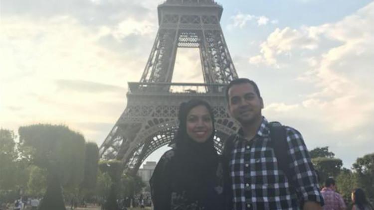 """Echan a una pareja musulmana de un avión de Delta por sudar, decir """"Alá"""" y enviar mensajes de texto"""